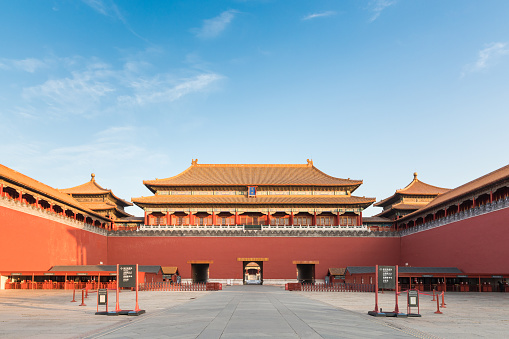 Ancient Civilization「Forbidden City Front view」:スマホ壁紙(4)