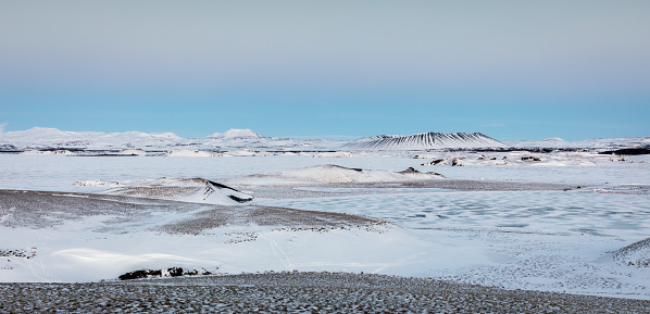 Lava「Skutustadagigar - Pseudo-Craters - Lake Myvatn」:スマホ壁紙(17)