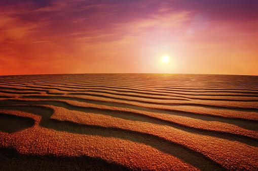 Namibia「Desert Sunset」:スマホ壁紙(16)