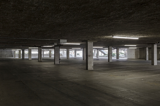 Accessibility「Empty lot in parking building」:スマホ壁紙(16)