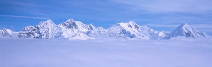 アラスカ「'Mountains and glaciers in Wrangell-St. Elias National Part, Alaska'」:スマホ壁紙(10)