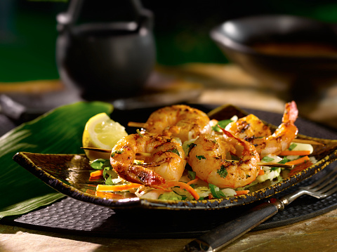 Plate「Shrimp skewers」:スマホ壁紙(5)
