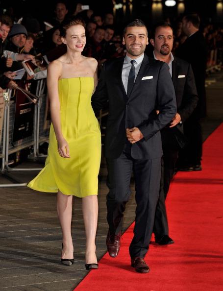 "Yellow Dress「""Inside Llewyn Davis"" - Centrepiece Gala Supported By The Mayor Of London - Red Carpet Arrivals: 57th BFI London Film Festival」:写真・画像(3)[壁紙.com]"