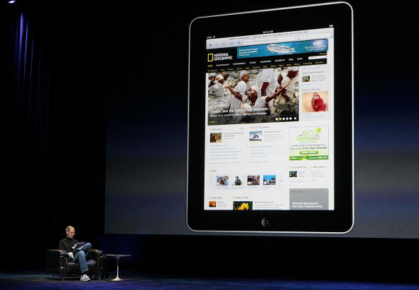 Keynote Speech「Apple Announces Launch Of New Tablet Computer」:写真・画像(10)[壁紙.com]