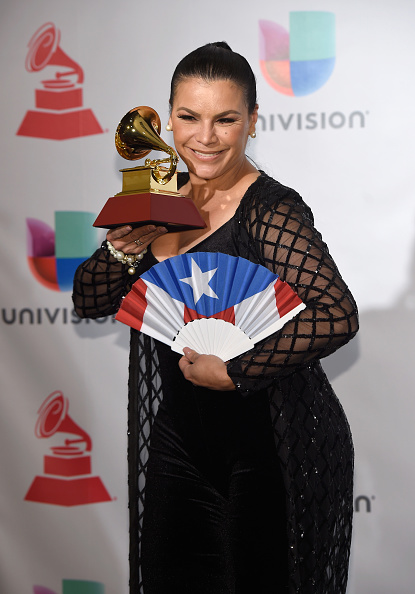 MGM Grand Garden Arena「The 18th Annual Latin Grammy Awards - Press Room」:写真・画像(1)[壁紙.com]