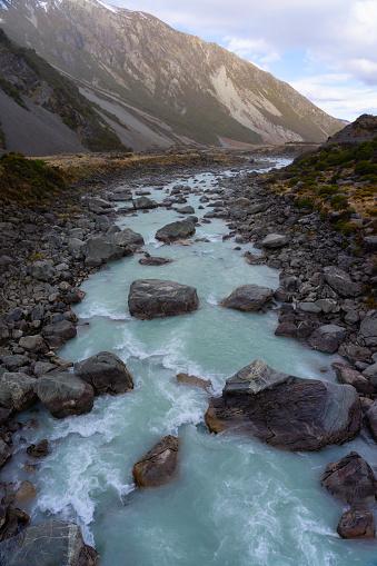 Mt Cook「Hooker River In The Mt Cook National Park」:スマホ壁紙(13)