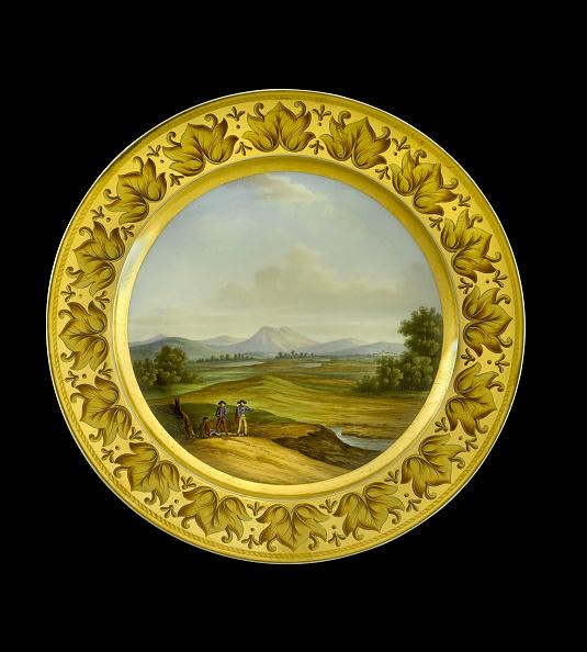 Painting - Activity「Dessert Plate Depicting The Battlefield Of Talavera」:写真・画像(7)[壁紙.com]