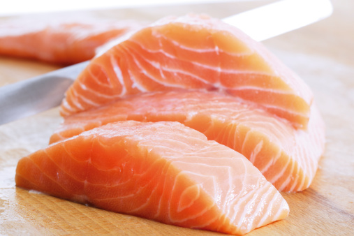 Raw Food「Salmon fillet」:スマホ壁紙(11)