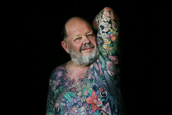 Eccentric「Tattooed Man Geoff Ostling To Donate His Skin To Art Gallery」:写真・画像(12)[壁紙.com]