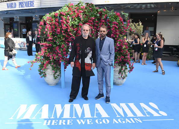 Bjorn Ulvaeus「Mamma Mia! Here We Go Again World Premiere」:写真・画像(7)[壁紙.com]