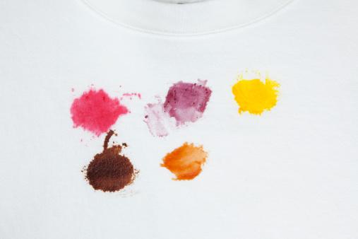 チョコレート「さまざまなお料理のシミ白いコットンのスエットシャツ」:スマホ壁紙(0)
