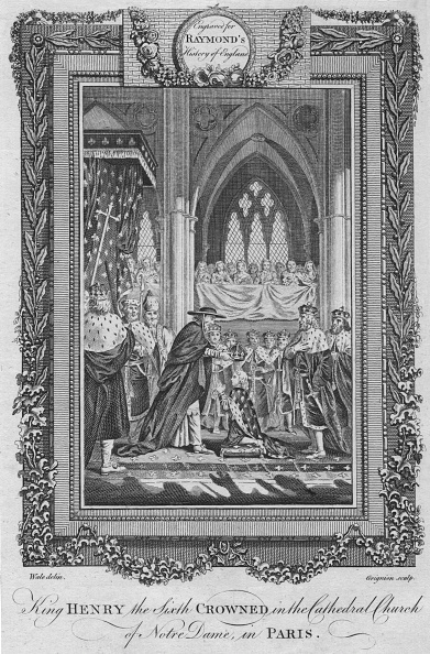 Circa 15th Century「King Henry The Sixth Crowned In The Cathedral Church Of Notre Dame」:写真・画像(17)[壁紙.com]