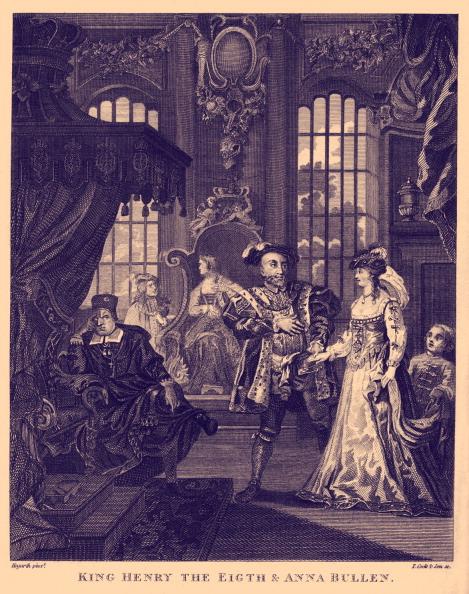 Tudor Style「King Henry VIII and Anne Boleyn by William Hogarth」:写真・画像(10)[壁紙.com]