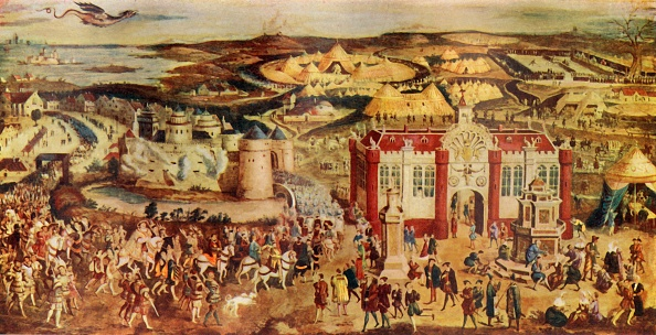 Calais「King Henry Viii MeetingFrancis At TheField Of The Cloth Of Gold」:写真・画像(2)[壁紙.com]