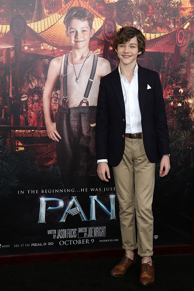 Actor「'Pan' New York Premiere - Inside Arrivals」:写真・画像(4)[壁紙.com]