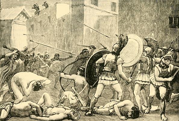 Protection「Repulse Of Pyrrhus From Sparta」:写真・画像(13)[壁紙.com]