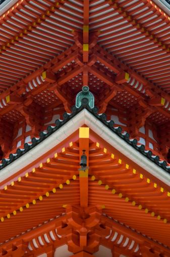 Temple「Pagoda detail」:スマホ壁紙(19)