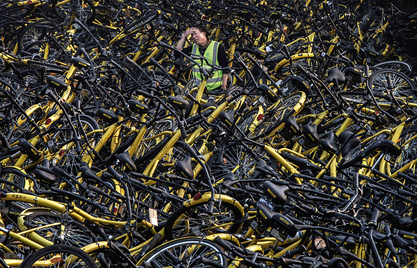 Cycling「Beijing's Bike Share Boom Creates Refuge for Battered Bicycles」:写真・画像(11)[壁紙.com]