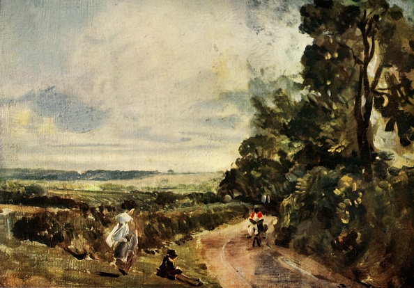 Country Road「A Country Road With Trees And Figures」:写真・画像(11)[壁紙.com]
