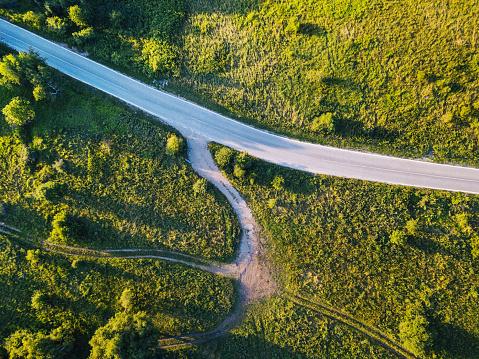 Beauty「国の道路の交差点」:スマホ壁紙(7)