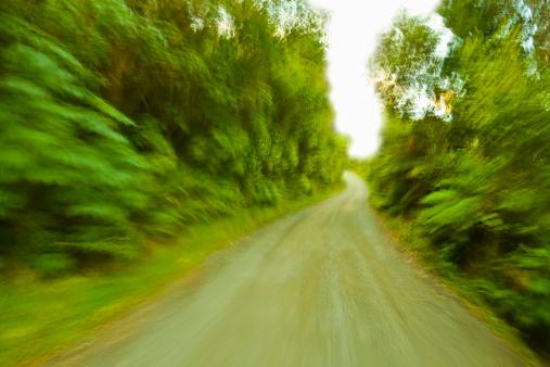 かえる「Country road thru forest, impressionist」:スマホ壁紙(7)