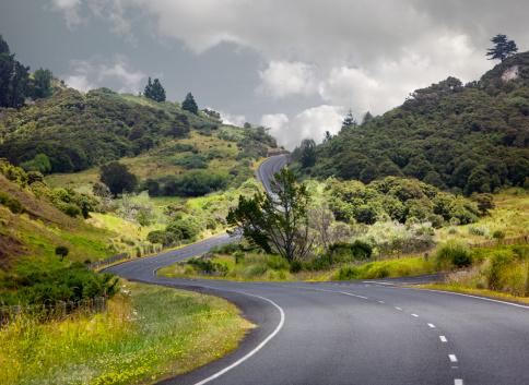 North Island New Zealand「Country Road, North Island, New Zealand」:スマホ壁紙(1)