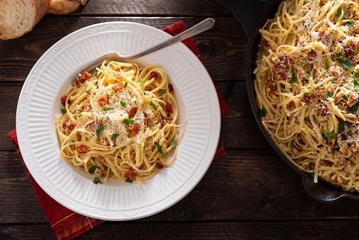 Skillet - Cooking Pan「Carbonara Pasta」:スマホ壁紙(4)