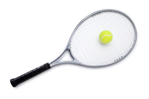 Clipping Path「Tennis Racket with Ball」:スマホ壁紙(6)