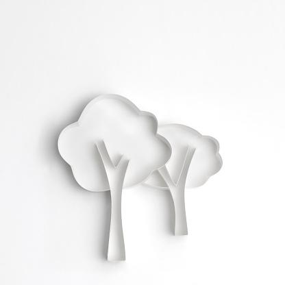 Paper Craft「Origami, trees」:スマホ壁紙(16)