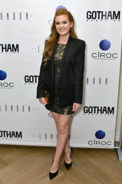 Metallic Dress「Gotham Magazine Celebrates Cover Star Isla Fisher With Ciroc Vodka」:写真・画像(19)[壁紙.com]