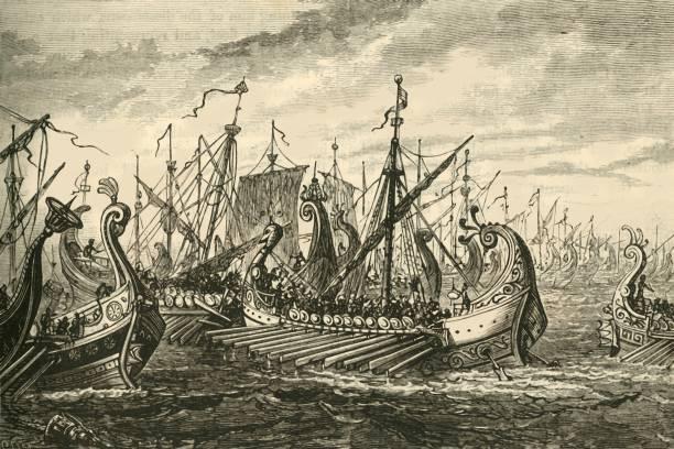 Greek Triremes At The Battle Of Salamis:ニュース(壁紙.com)