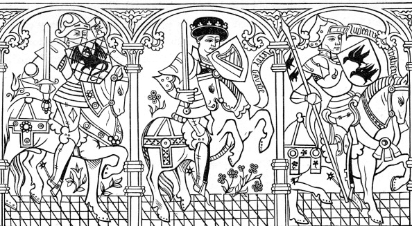 Circa 15th Century「Joshua, King David and Judas Maccabaeus」:写真・画像(7)[壁紙.com]