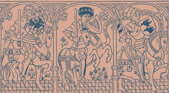 Recreational Horseback Riding「Joshua, King David and Judas Maccabaeus」:写真・画像(7)[壁紙.com]