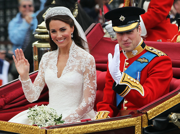 Wedding「Royal Wedding - Carriage Procession To Buckingham Palace And Departures」:写真・画像(5)[壁紙.com]