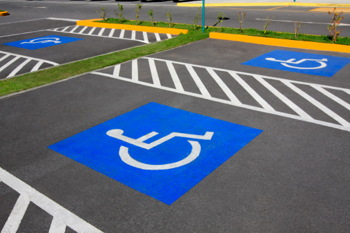 Accessibility for Persons with Disabilities「Wheelchair parking space」:スマホ壁紙(7)