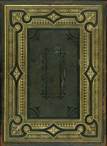 19th Century「Nineteenth Century bible back cover」:スマホ壁紙(15)