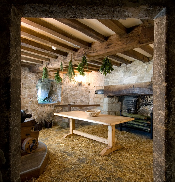 Ceiling「Kitchen, Yarmouth Castle, Isle of Wight, 2007」:写真・画像(3)[壁紙.com]