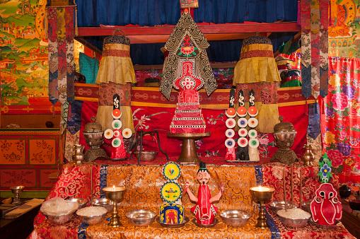 Thyangboche Monastery「Torma flour and butter offerings」:スマホ壁紙(5)