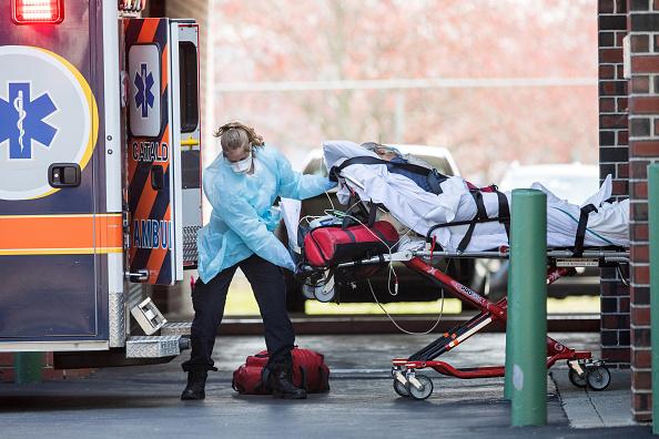 USA「Boston Area Nears Expected Peak Of Coronavirus Outbreak」:写真・画像(10)[壁紙.com]