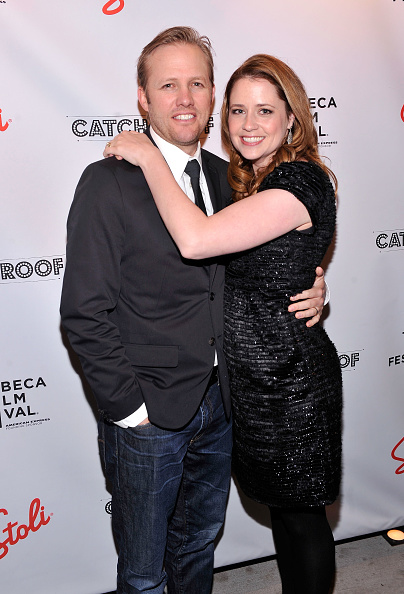 Jenna Fischer「Tribeca Film Festival 2012 After-Party For The Giant Mechanical Man, Hosted By Stolichnaya Vodka, At Catch Roof - 4/23/12」:写真・画像(5)[壁紙.com]