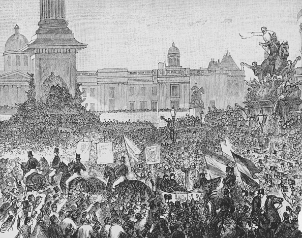Trafalgar Square「Garibaldi Welcomed In London」:写真・画像(16)[壁紙.com]