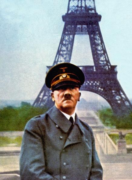 Color Image「Hitler In Paris」:写真・画像(6)[壁紙.com]