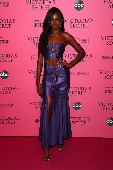 Satin「2018 Victoria's Secret Fashion Show in New York - After Party Arrivals」:写真・画像(10)[壁紙.com]