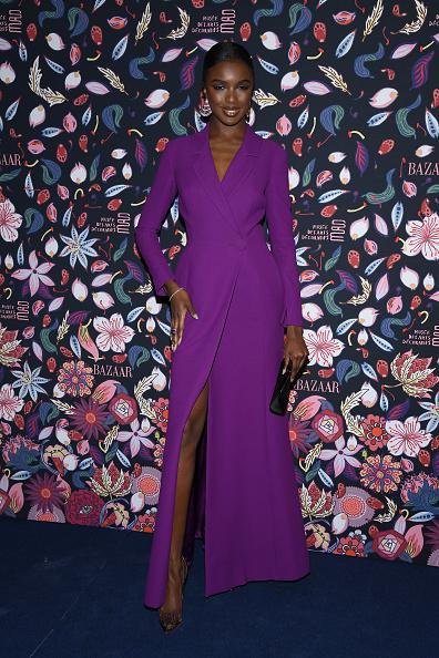 Purple Dress「Harper's Bazaar Exhibtion At Musee Des Arts Decoratifs In Paris」:写真・画像(13)[壁紙.com]
