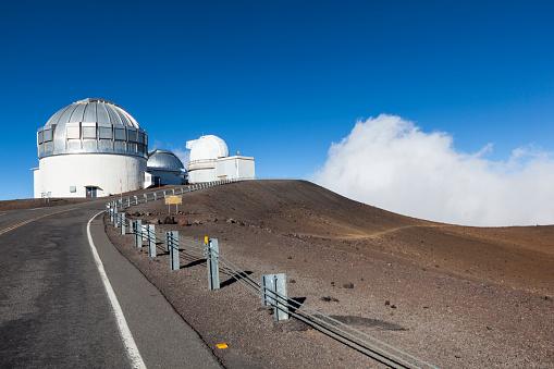 star sky「big island mauna kea gemini observatory hawaii islands」:スマホ壁紙(13)
