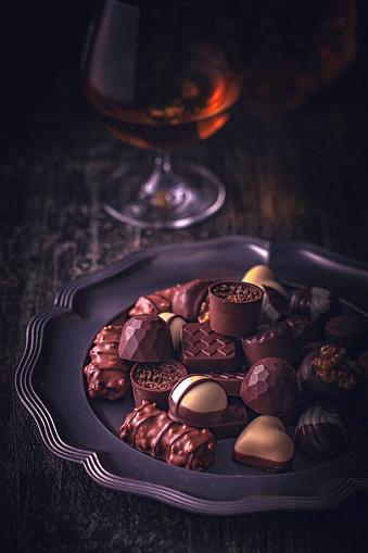 文字「最高級チョコレート」:スマホ壁紙(3)