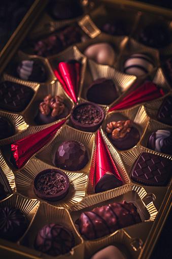 文字「最高級チョコレート」:スマホ壁紙(4)