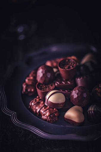 文字「最高級チョコレート」:スマホ壁紙(1)