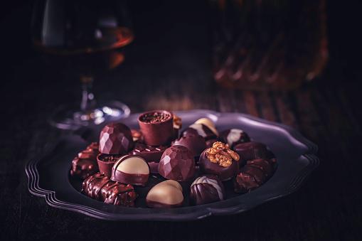 文字「最高級チョコレート」:スマホ壁紙(6)