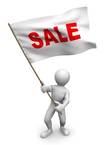 Used Car Selling「Men with flag sale. 3d」:スマホ壁紙(19)